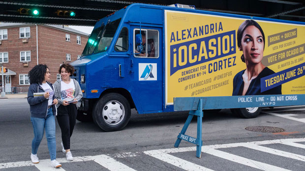 Alexandria Ocasio-Cortez Tandem Design